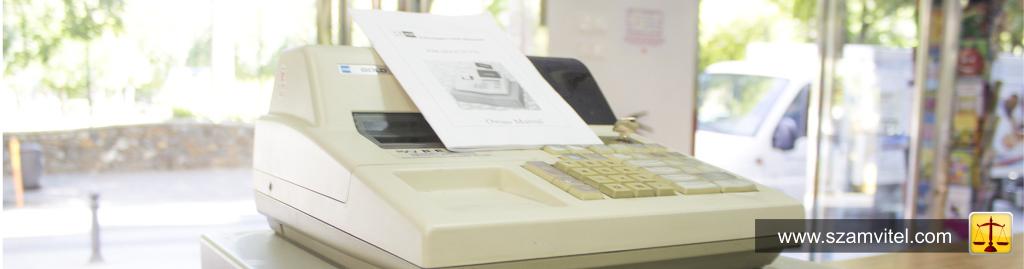 Online pénztárgépek használata helyett